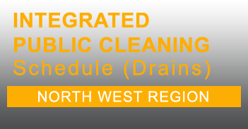 North West Integrated Public Cleaning Schedule for Drains in PDF