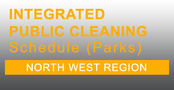 North West Integrated Public Cleaning Schedule for Parks in PDF