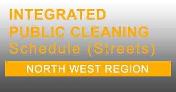 North West Integrated Public Cleaning Schedule for Streets in PDF