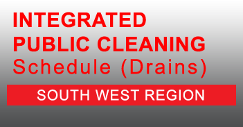 South West Integrated Public Cleaning Schedule for Drains in PDF