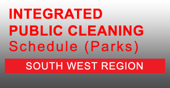 South West Integrated Public Cleaning Schedule for Parks in PDF