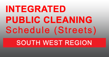 South West Integrated Public Cleaning Schedule for Streets in PDF