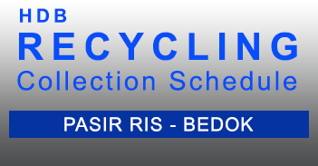 Recycling Schedule - Pasir Ris Bedok - HDB in PDF