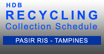 Recycling Schedule - PRB Sector - Pasir Ris Tampines - HDB in PDF